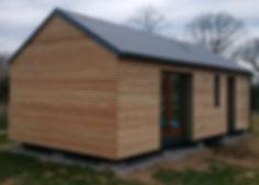 Modulová mobilní dřevostavba | Modulový mobiní dům