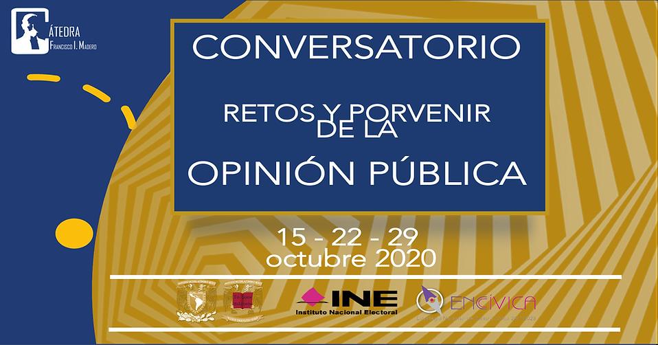 Conversatorio Opinión Pública - Catedra Madero