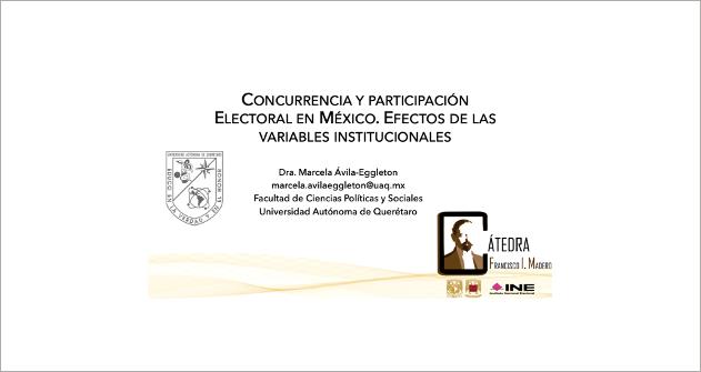 Webinar El comportamiento electoral y la participación ciudadana