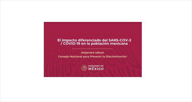 Webinar Grupos Vulnerables ante el COVID19