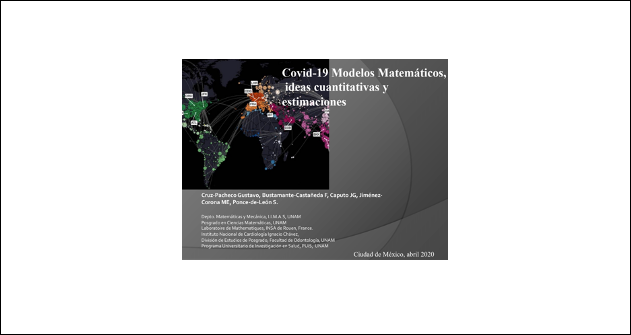 Webinar Modelo matemático COVID19