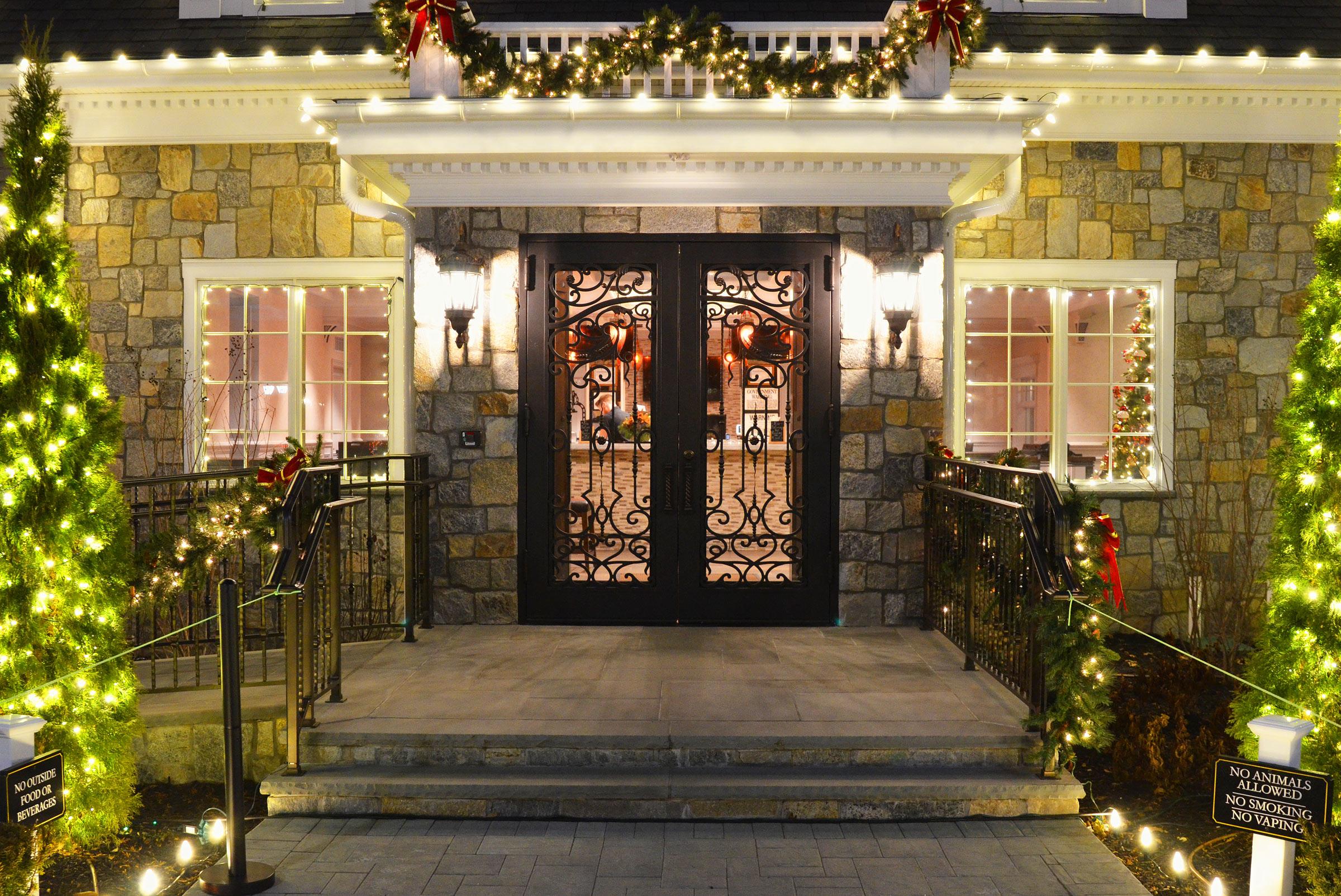 Outside Main Entrance