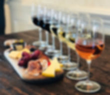 Del Vino Vineyards Flight & Charcuterie Board