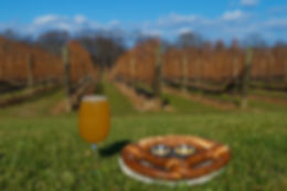 Harbor Head Brewery Craft Beer at Del Vino Vineyards