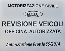 MOTORIZZAZIONE CIVILE Autorizzazione Prov.le 55/2014