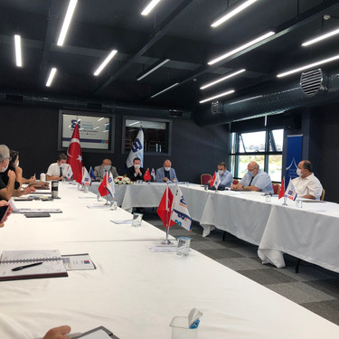 "We held the Kick-Off meeting of the ""TA for Eskişehir Design and Innovation Centre"" project"