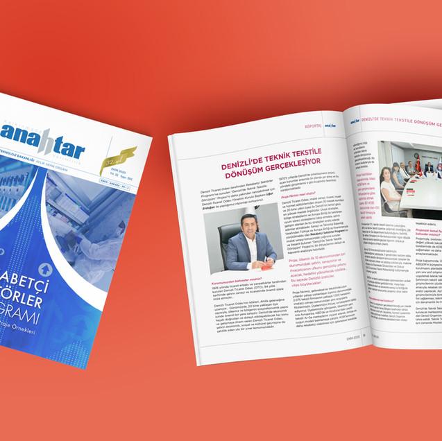 Anahtar Magazine Coverage