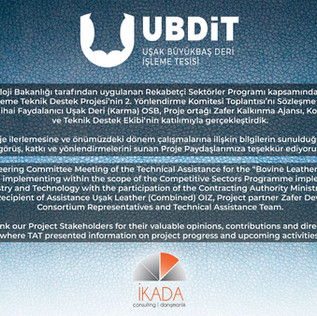 UBDİT Steering Committee Meeting