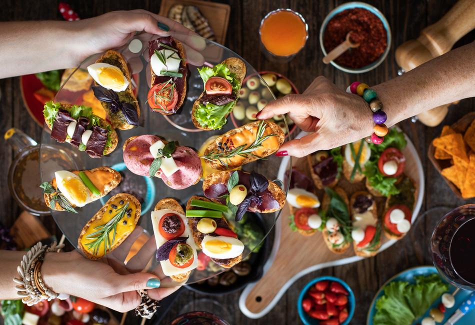 de Luxe Picknick - Speisekarte