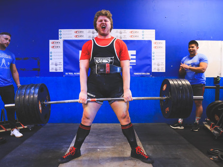 3rd Annual Forge Deadlift Competition Results