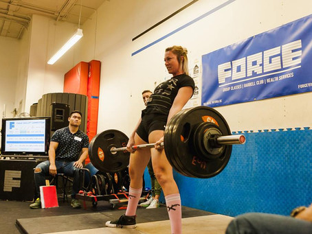 2nd Annual Forge Deadlift Competition Results!