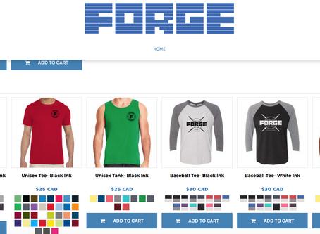 Online Merchandise Store is LIVE!