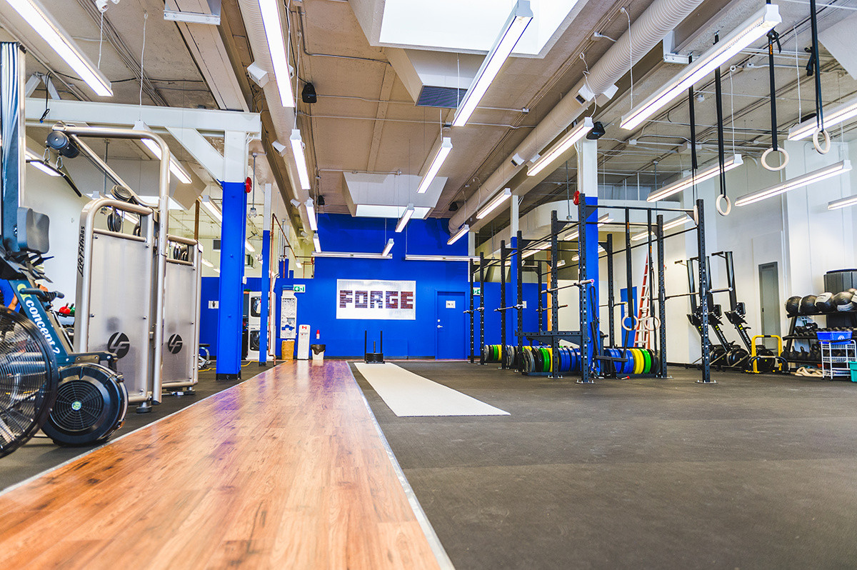 Forge downtown gym victoria bc