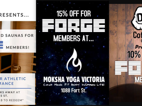 Great New Promotions at Forge!