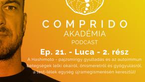Ep. 21. - Luca - 2. rész - Hashimoto-, pajzsmirigy- és autoimmun betegségek