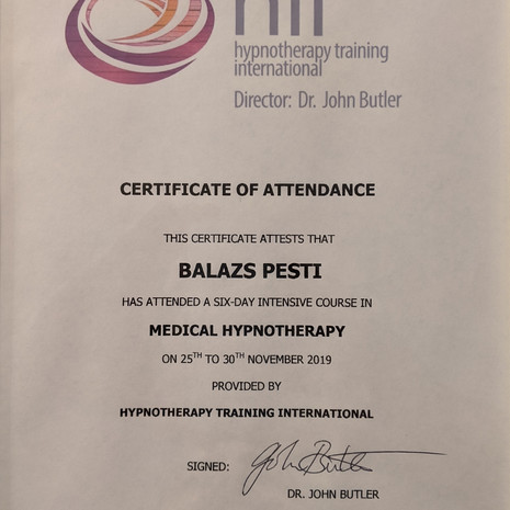 Medical Hypnotherapy