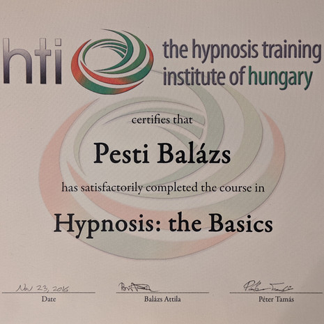 Hypnosis: the Basics