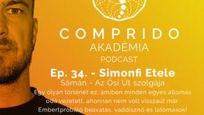 Ep. 34. - Simonfi Etele - Sámán