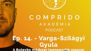 Ep. 14. - Varga-Szilágyi Gyula - A Buteyko módszer legnagyobb magyar alakja!