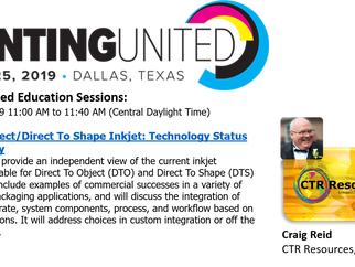 Printing United 2019 Education Sessions