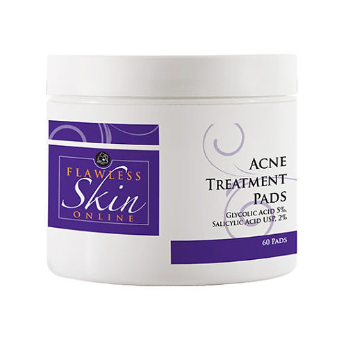 FLAWLESS SKIN ACNE TREATMENT PADS 5%