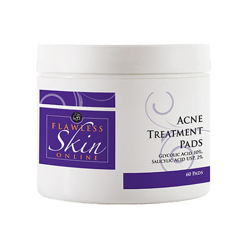 FLAWLESS SKIN ACNE TREATMENT PADS 10%