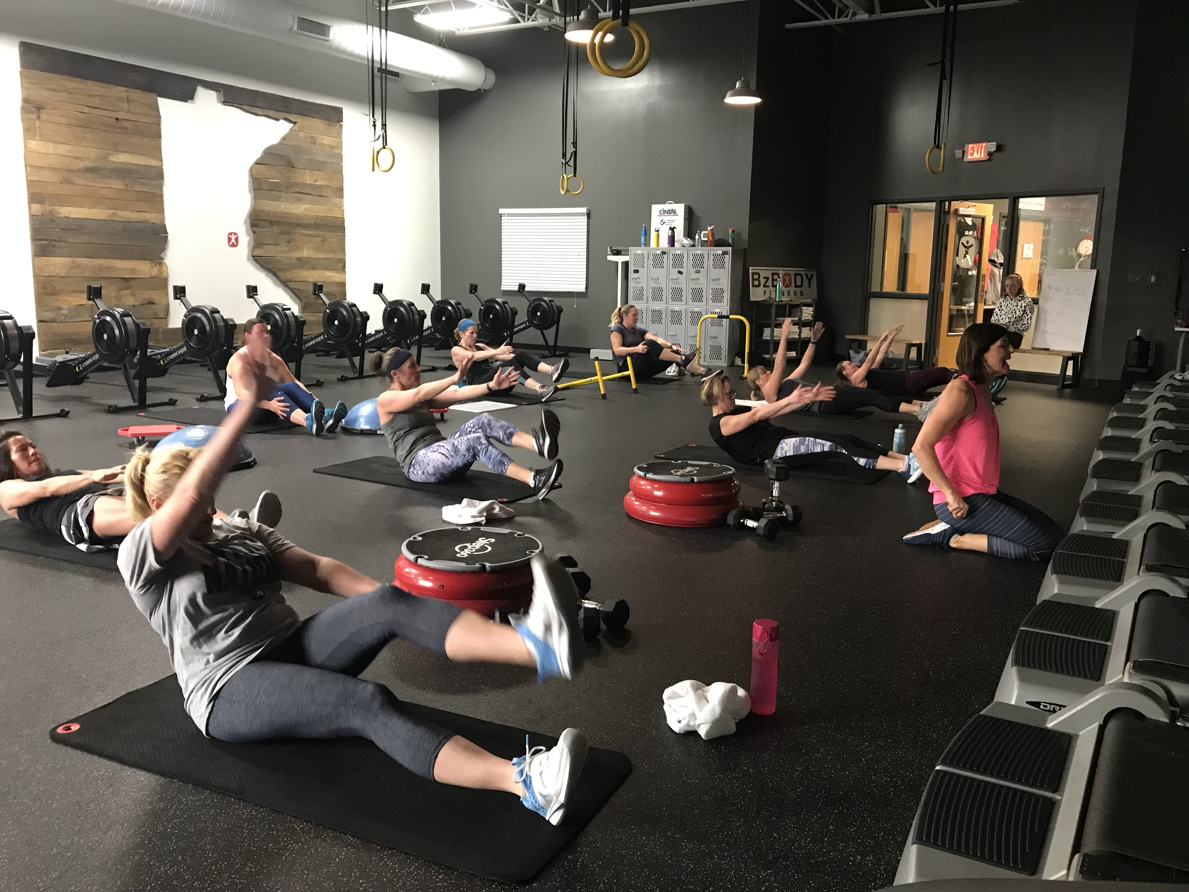Friday Boot Camp Core Work