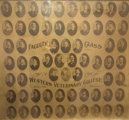 Western Veterinary College Original Photo