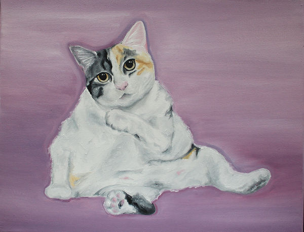 """Callie"" Oil Painting by Miranda Leighr"