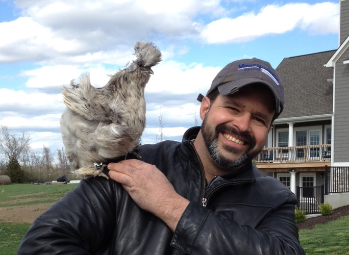 Dr.Leighr and chicken