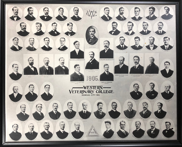 Western Veterinary College Class Photo