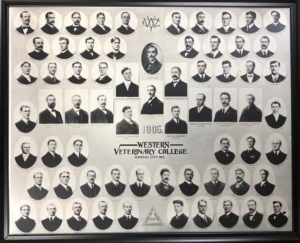 Western Veterinary College Class Photo