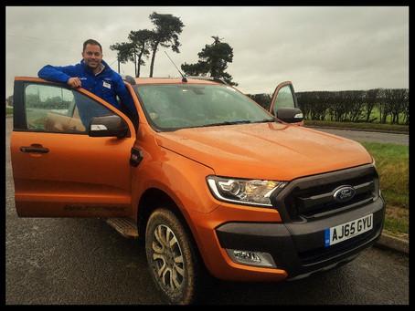 Ford Ranger demo tour.