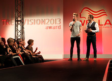 Presenting the Wella Trendvision Awards in 2013.