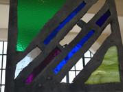 Garden glass, Goytre Wharf, steel and gl