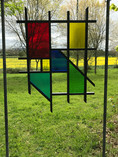 Copy of Garden Mondrian, wood and glass