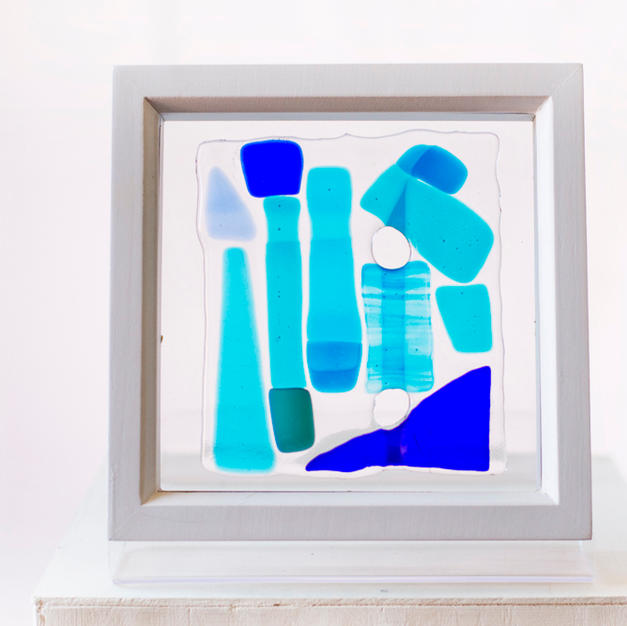 Glass in a box, Abstract I, SOLD
