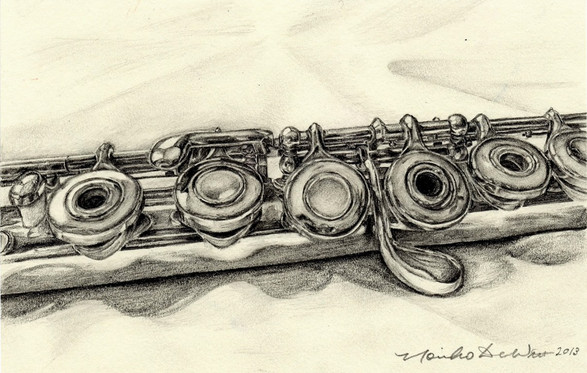 Study of a flute -3