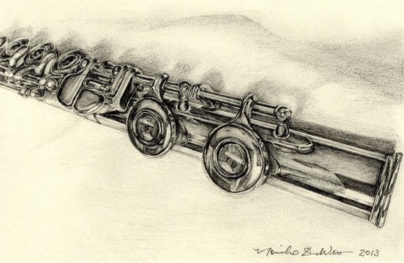 Study of a flute -4
