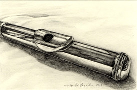 Study of a flute -1