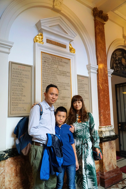 学生家庭在皇家音乐学院内