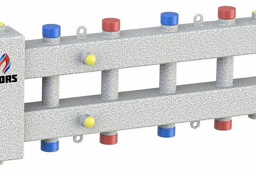 Гидравлический разделитель модульного типа на пять контуров ГРМ-5-60