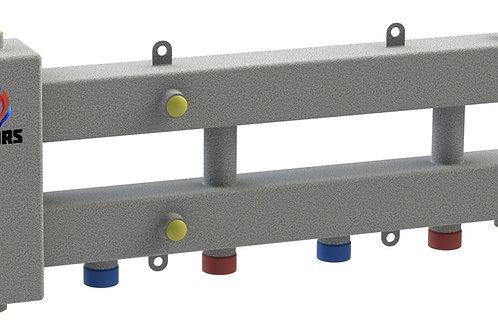 Гидравлический разделитель модульного типа на три контура ГРМ-3Н-60