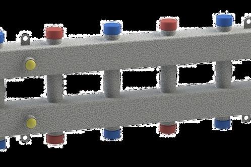 Гидравлический разделитель модульного типа на семь контуров ГРМ-7-60