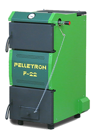 solid fuel long time boiler pelletron fe