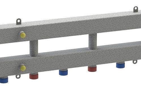 Гидравлический разделитель модульного типа на четыре контура ГРМ-4Н-60 (серебро)