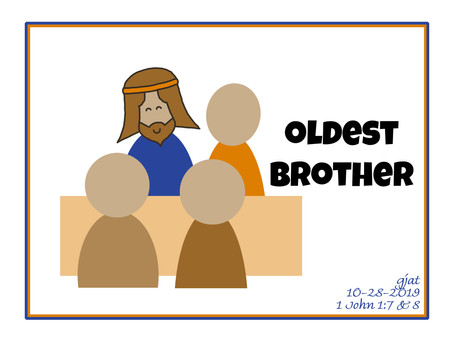 Wednesday at the Well: Hebrews 10:2-18 - Jesus, the Oldest Brother