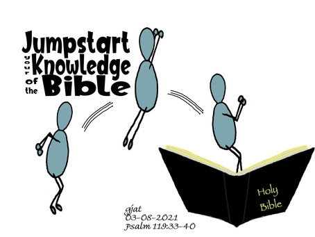 Wednesday at the Well: Psalm 119:33-40 - Jumpstart