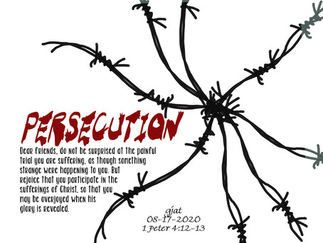 Wednesday at the Well: 1 Peter 4:12-19 - Persecution