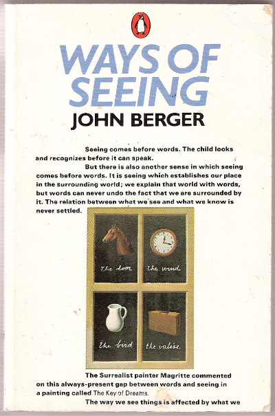Book jacket for Ways of Seeing, by John Berger